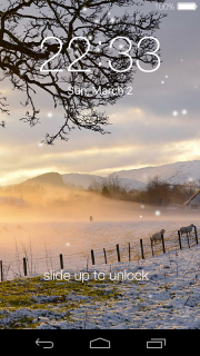 Lock screen(live wallpaper) screenshot 4