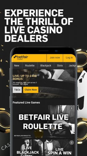 Betfair Casino Play Roulette Blackjack Slots 1 3 3 Download