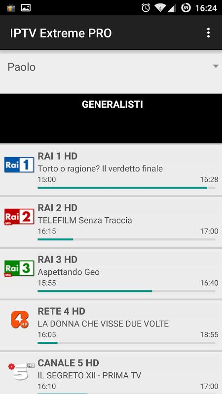 IPTV Extreme Pro screenshot 1