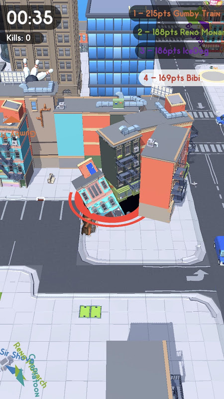 Hole.io screenshot 2