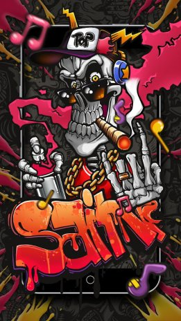 Graffiti Skull Street Art Live Wallpaper 1 1 2 Download Apk For
