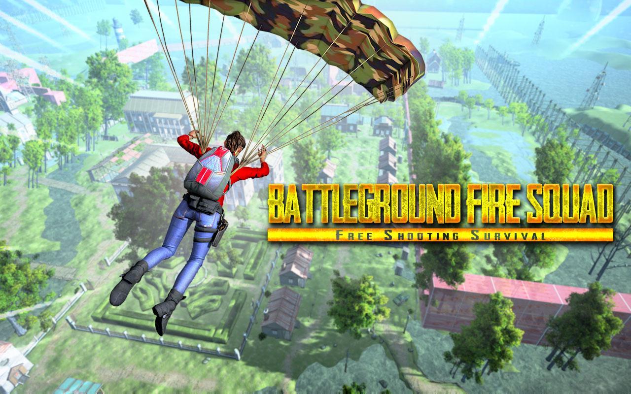 Battleground Fire Squad - Free Shooting Survival screenshot 1