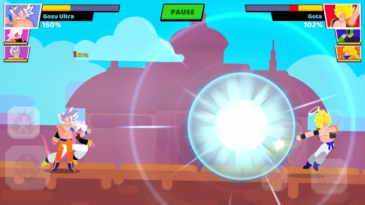 Stickman Warriors: Fighter Street screenshot 2