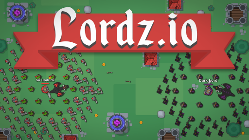 Lordz.io - Real Time Strategy Multiplayer IO Game screenshot 1