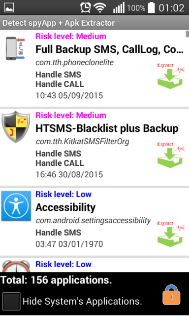 how to detect hacking app