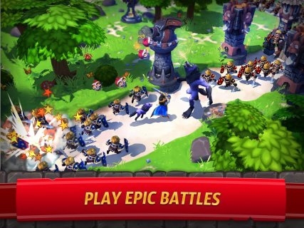 Royal Revolt 2: Tower Defense RPG and War Strategy screenshot 9