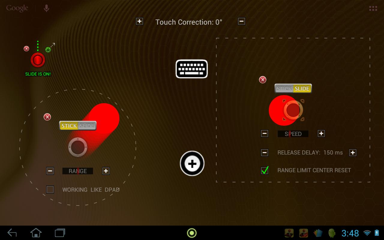 USB/BT JoystickCenter GOLDDemo screenshot 1