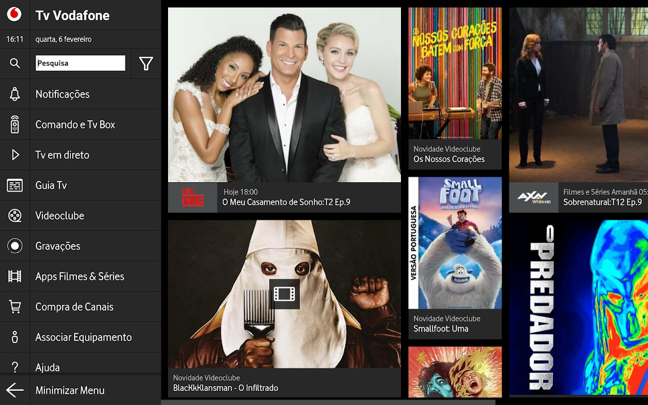 TV Vodafone screenshot 2