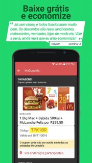 Cuponeria- Free Coupons Brazil screenshot 5