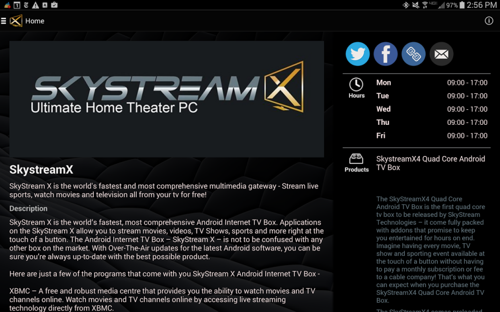 SkystreamX | Download APK for Android - Aptoide