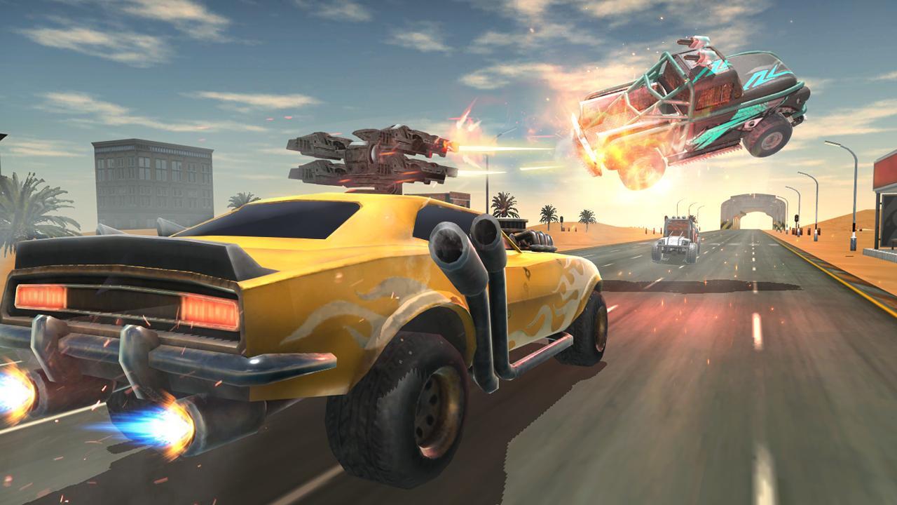 Death Race Road Battle screenshot 2