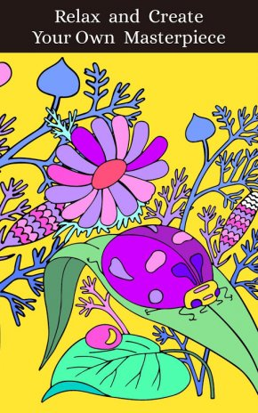 Coloring Pages Magic Garden Screenshot 1