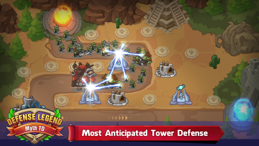 Defense Legend: myth TD screenshot 6
