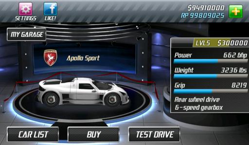 Drag Racing screenshot 4