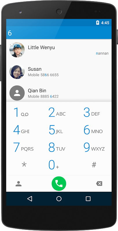 ExDialer - Dialer & Contacts screenshot 1