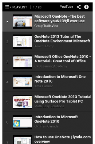 Ms OneNote Tutorial 1 0 Download APK for Android - Aptoide