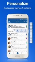 Blue Mail - Email Exchange Screenshot