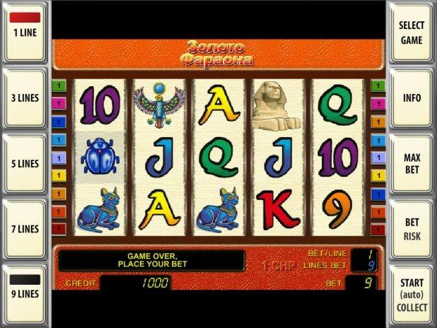 Игровые автоматы правила игры