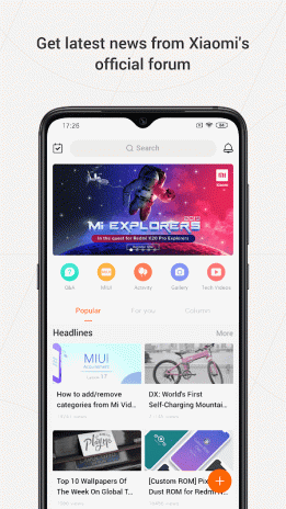 Mi Community - Xiaomi Forum 4 2 0 Download APK for Android