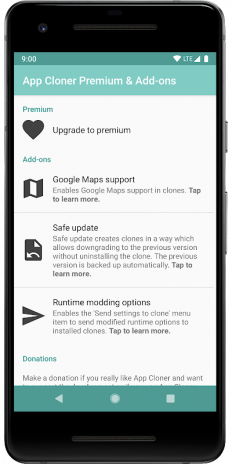 App Cloner Premium & Add-ons 1 0 6 Baixar APK para Android