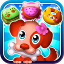 Hungry Pet Mania - Match 3 Gems Game