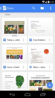Google Docs screenshot 4
