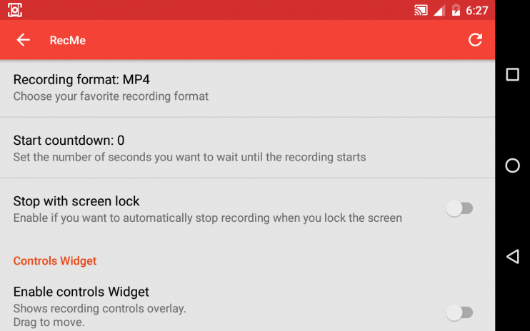 recme free screen recorder 2 5 2c download apk for android aptoide