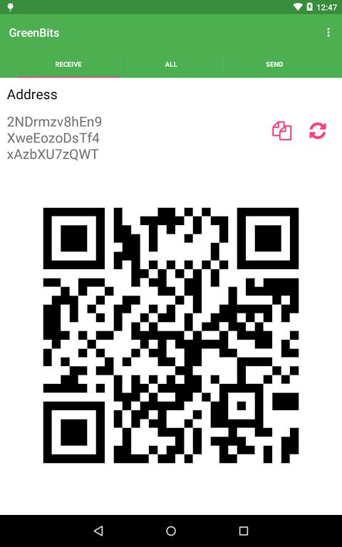 GreenBits Bitcoin Wallet screenshot 8