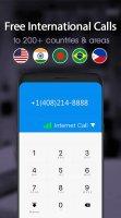 Dingtone Free Phone Calls, Free Texting Screen