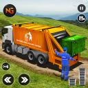 Caminhão de lixo offroad: caminhão de dump