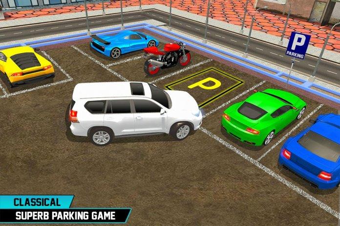 jeux de voiture parking en ville gratuit voitures. Black Bedroom Furniture Sets. Home Design Ideas