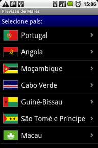 Previsão de Marés screenshot 1
