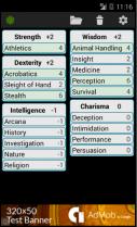Captura de tela Ficha de Personagem 5ª Edição