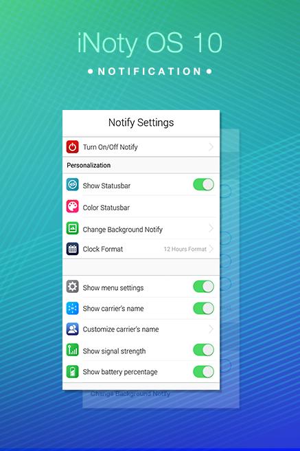 iNoty - iNotify OS 10 1 8 Download APK para Android | Aptoide