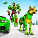 Trasformazione robot lupo - gioco di auto robot