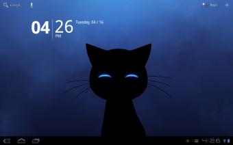 Stalker Cat Live Wallpaper Free Screenshot