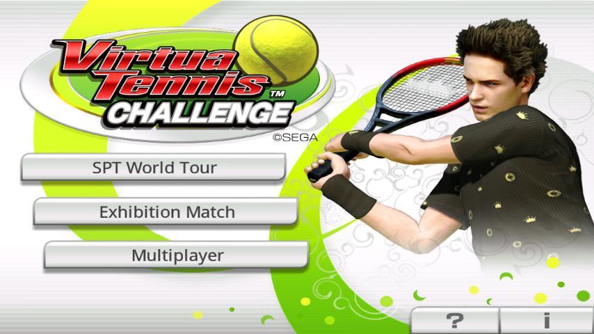 Virtua Tennis™ Challenge screenshot 1