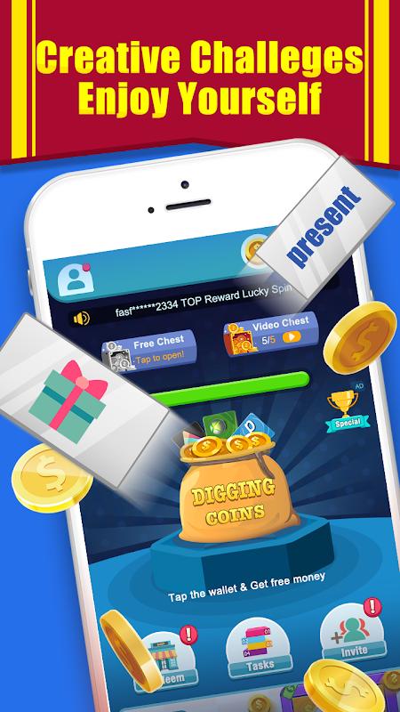 Coin Digger - Money Cube screenshot 2