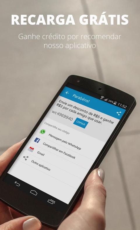 Recarga Celular, Pagar Contas e Bilhete Único screenshot 2