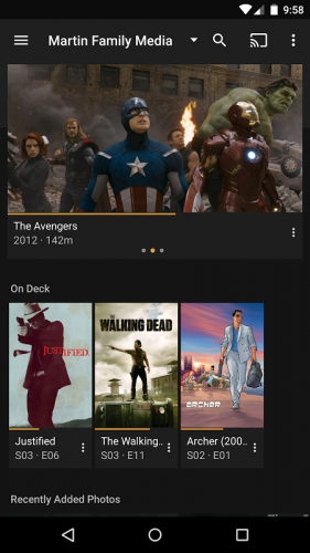 Plex: Stream Movies, Shows, Music, and other Media screenshot 16