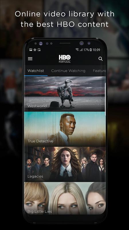 HBO Portugal screenshot 1