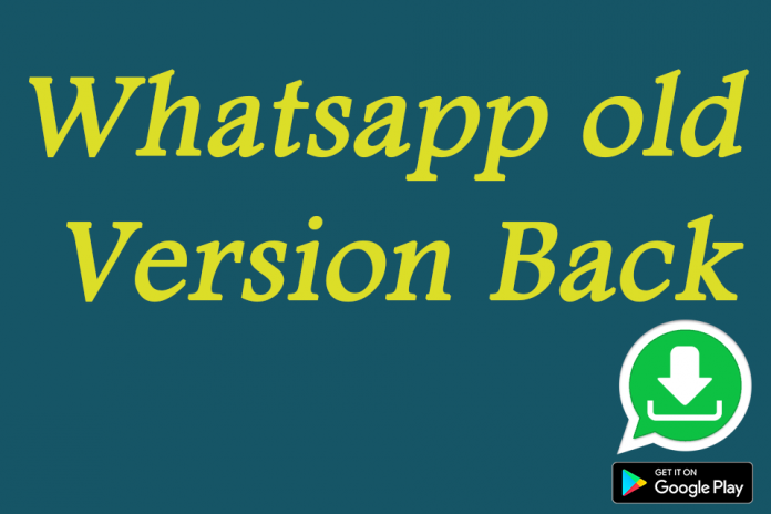 Down old version for WhatsApp 3 0 Download APK for Android