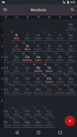 Periodic table 2018 0154 download apk for android aptoide periodic table 2018 screenshot 6 urtaz Image collections