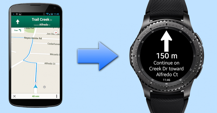 Navigation Pro: Google Maps Navi on Samsung Watch 10 11 Download APK