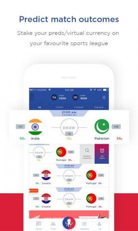 PredCred - Cricket & World Cup Prediction App 4 14 Android