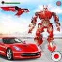 Flying Falcon Robot Hero - Multi Robot Hero Games