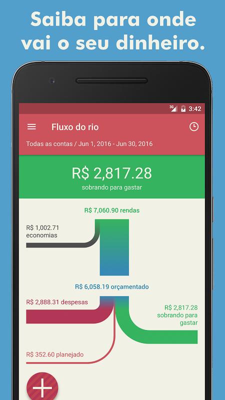 Toshl Finanças - despesas, receitas e orçamentos screenshot 1