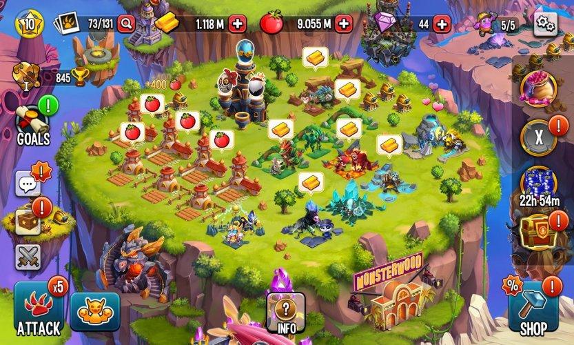 Monster Legends screenshot 1