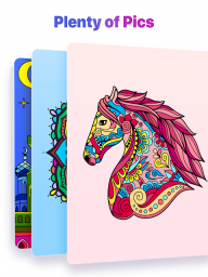 Paint by Numbers: New Colouring Pictures Book Free screenshot 9