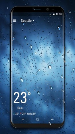 Real Time Weather Live Wallpaper 2202280 Download Apk For